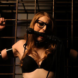 Exciting librarian ela darling lezdom. Ela Darling is a real life librarian -- the sexy, naughty kind you fantasize about. This nerdy bookworm has a huge appetite for kink, and she found herself unable to refuse the invitation to femdom MISSogynys dungeon to catalog her collection of tormented implements and slave training devices.